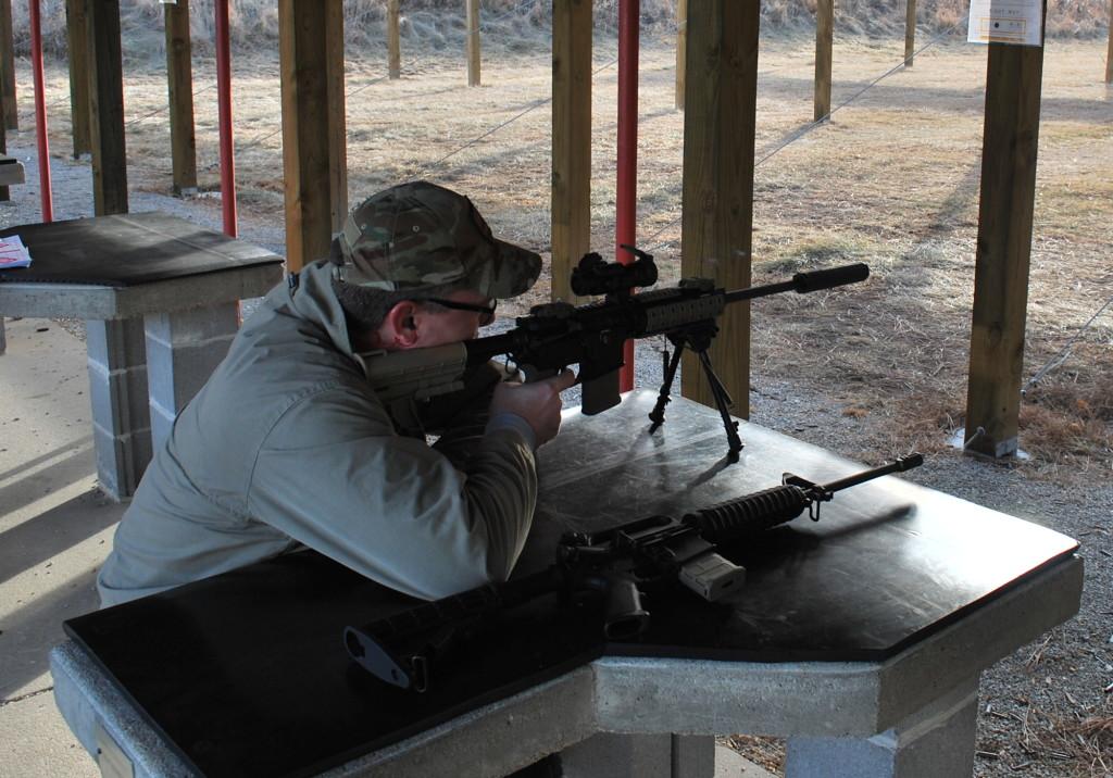 Shooting through the Kestrel 5.56